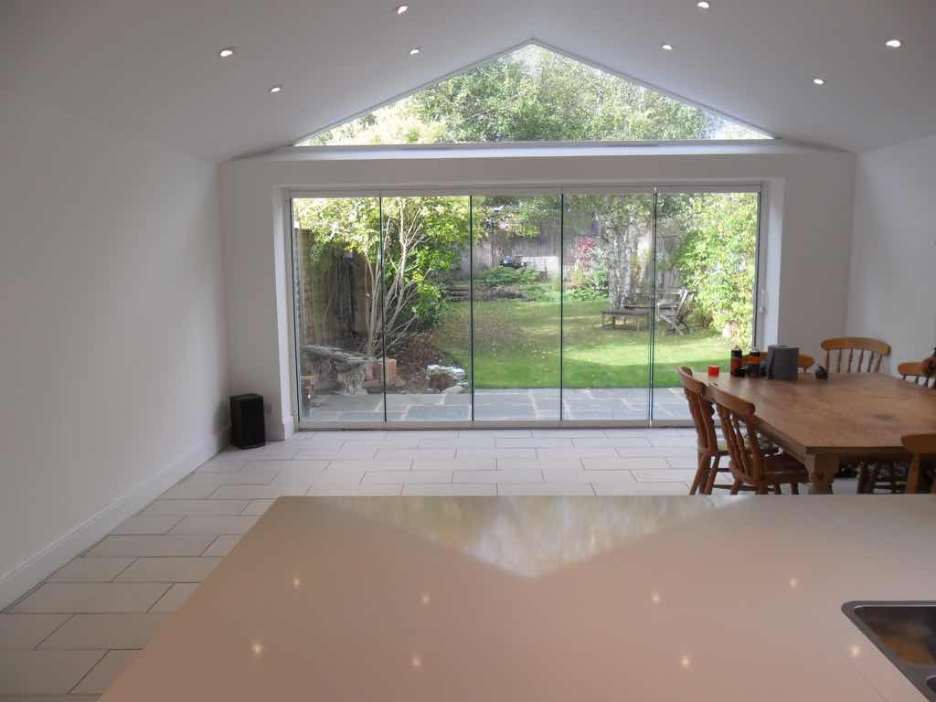 pic of Glass Bifolding door