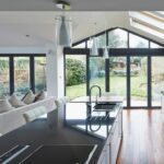 image of kitchen with origin bifolds