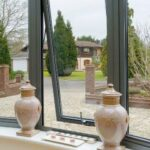 Picture of Origin twin flush window.