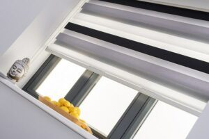 Origin automatic blinds for bifolds.